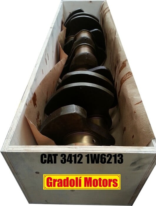 CRANKSHAFT 3412 STRAIGHT PINION - CIGÜEÑAL FORJADO PIÑÓN RECTO